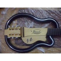 Violão Ramá Vazado Nylon Special Luthier Silent Guitar Escud