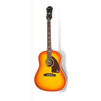 Violão Epiphone Texan 1964 Vintage Cherry Sunburst **