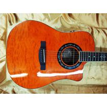 Violão Elétrico Fender T-bucket 300- Amber Quilted