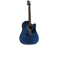 Violão Folk Samick Eden Plains D 4 Ce - Azul