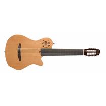 Violão Godin Multiac Grandconcert 7sa (concorrência Musical)