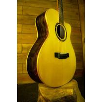 Violão Grand Concert: Luthier Reina, 100% Madeira Maciça