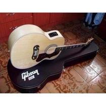 Violão Gibson J200 Nt Com Fishman E Case Pronta Entrega