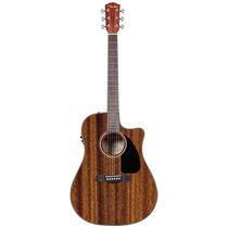 Violão Elétrico Fender All Mahogany Cd-60-221 Eletroacustico