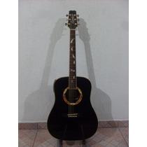Violão Folk 6 Cordas D16gn-bk - Preto - Condor