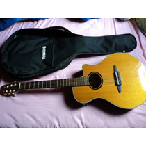 Violão Yamaha Acústico/ Elétrico, Modelo Apx 5
