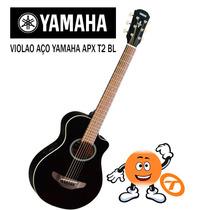 Violão Yamaha Aço Apx T2 Bl Loja Tocmix