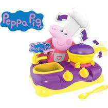 Peppa Pig Table Top Cozinha Brinquedo Menina Multikids