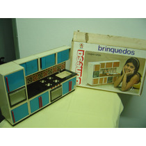 Brinquedo Antigo Copa / Cozinha Banesa + Kit Elka + Acess.