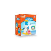 Brinquedo Fábrica De Yogurt Frozen Estrela Faz De Verdade