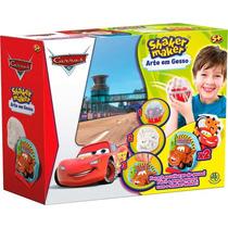 Shaker Maker Arte Em Gesso Disney Carros
