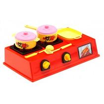 Fogão Médio Cozinha Infantil Premium Para Crianças
