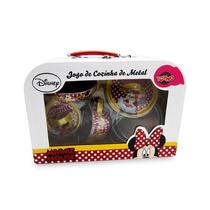 Jogo De Cozinha De Metal 5 Pçs Minnie Disney Original Toyng