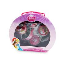 Jogo De Cozinha Metal 6 Pçs Princesas Disney Original Toyng