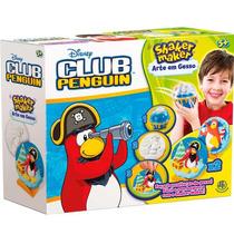 Shaker Maker Disney Art Em Gesso Club Pinguin