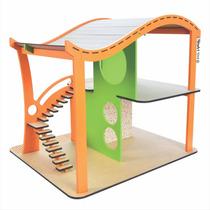 Brinquedo Madeira - Coleção Casinhas - Mod.02