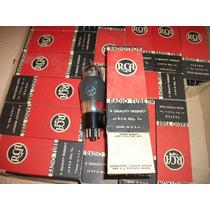 A Válvula 6k7 Rca Novas E Testadas Cx Original