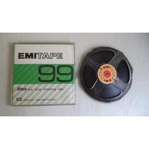 Fita Emi 99 Para Gravador De Rolo 1/4 1.800 Pés Usada
