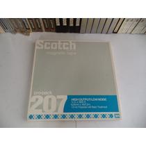 Fita Scotch 207 3600 Pés Para Gravador De Rolo 1/4 10,5 Pol