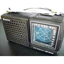 Radio Portatil De Pilha Sanyo Rp5140