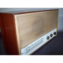 Lindo Radio Antigo Semp Lp 75 Com Caixa De Madeira