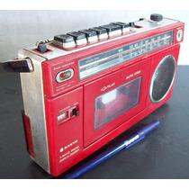 Rádio E Toca Fitas Sanyo M 100ah