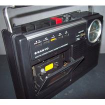 Rádio E Toca Fitas Sanyo M2402