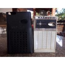 Rádio Raleigh Transistor Six Antigo