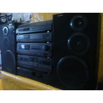 Conjto De Som Gradiente Ds-800/cdp-3.000 - C/ Cxs.de Som -ok