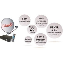 Kit Claro Tv Livre Flex A Parabólica Digital Da Claro