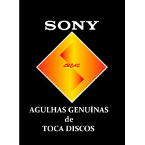 Agulha Sony Ps Lx 49 Br Genuína!! Diamante Original Le-son