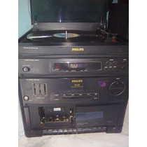 Toca Discos De Vinil,radio E Fita Cassete (funcionando)..