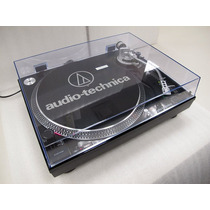 Vitrola Toca Discos Audio Technica At-lp120 Usb Dj Black