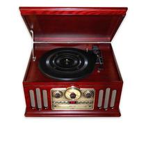 Toca Discos Vintage Anos 40 Ctx Classic Hi Fi Am Fm Cassete