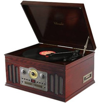 Toca Disco Retrô Teac Ctx Classic - Lp, K7, Cd, Fm E Am