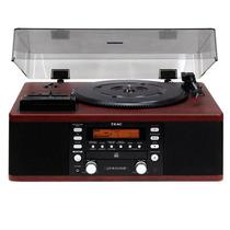 Toca-discos Vintage Anos 80 Lp R550 Teac Cassete Rádio Hi Fi