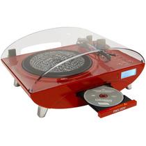 Toca Disco Retrô Ctx Melody - Lp/cd/fm/usb/gravação