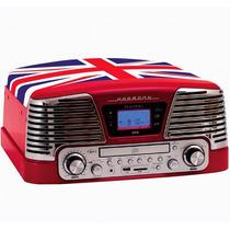 Toca Discos Vintage Anos 50 Ctx Harmony England Am/fm Cd Pla