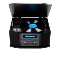 Toca Teac Discos Vintage Anos 80 Gf 550 Hi Fi Cassete Cd
