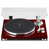 Vitrola Toca Disco Teac Tn-300 Analog Turntable - Vinho