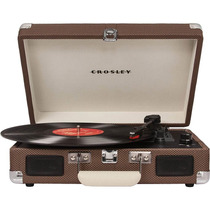 Vitrola Toca Discos Crosley Cruiser Preta Radiola
