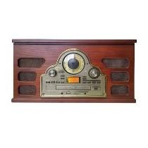 Rádio Toca Discos Ctx Maestro Cd Player Fita Cassete Entrad