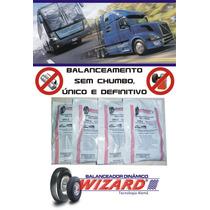 Balanceamento Dinâmico Roda Ônibus Mascarello 295/80 R22.5