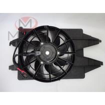 Ventoinha Com Defletor Radiador Focus De 02 A 09 - Com Ar