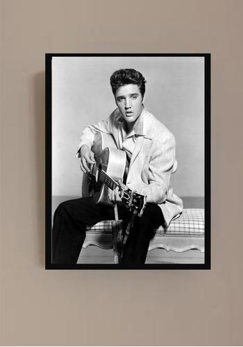 Elvis Presley- Quadro De Parede