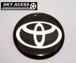 Emblema Resinado Da Toyota De 58mm