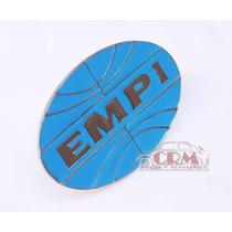 Emblema Metal Empi / Fusca / Kombi/ Karmann Ghia/ Brasilia