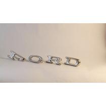 Emblema Ford Letras Do Capô Novo Landau Corcel Maverick