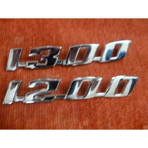 Emblema Vw Fusca 1200 / 1300- Metal Cromado - Preço Unitário