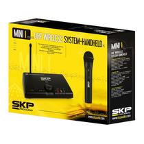 Skp Microfone Mini-i Base + 1 Microfone Mao Uhf S/ Fio